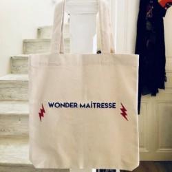 Tote bag Wonder Maîtresse