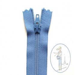 Fermeture éclair bleu batik 550