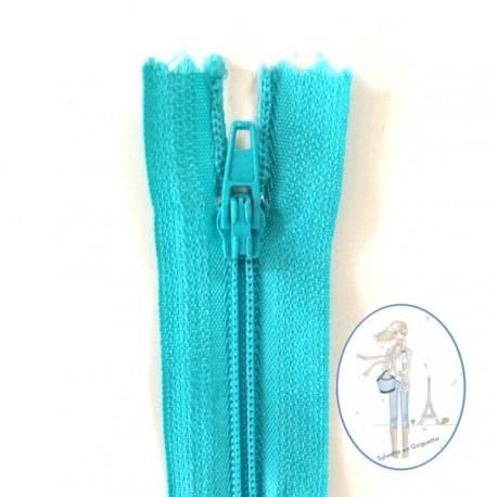 Fermeture éclair bleu turquoise 547