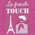 Motif thermocollant message - LaFrench Touch -