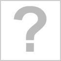 Tissu grosse étoile blanche sur fond jaune