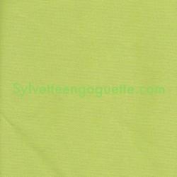 Toile de coton unie vert verveine