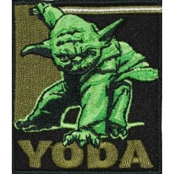 Ecusson thermocollant Star Wars Maître Yoda