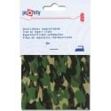 Tissu thermocollant militaire petit camouflage