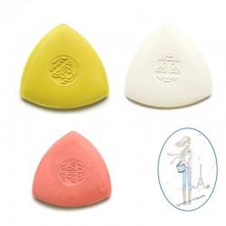 Craie de tailleur triangulaire - 3 pièces