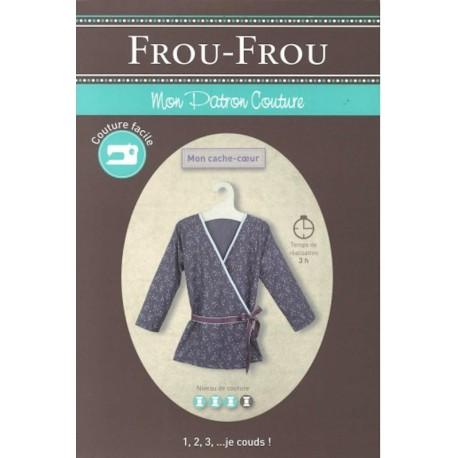 "Patron couture DIY Froufrou ""mon cache coeur"""
