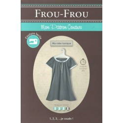 "Patron couture DIY Froufrou ""ma robe tunique"""