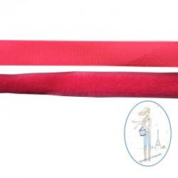 Bande velcro rose fluo - 20mm