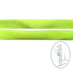 Bande velcro jaune fluo - 20mm