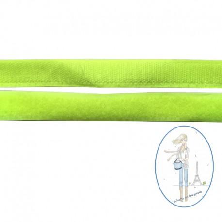 Velcro jaune fluo - 20mm