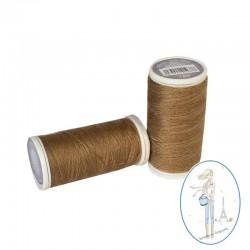 Fil à coudre polyester 200m camel - 189