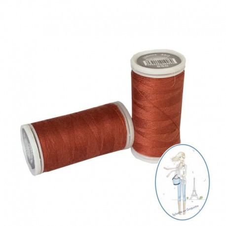 Fil à coudre polyester 200m terracotta - 850