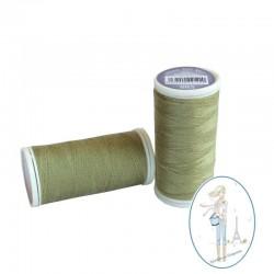 Fil à coudre polyester 200m amande - 883