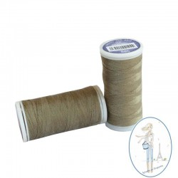 Fil à coudre polyester 200m vert olive - 886