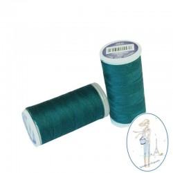 Fil à coudre polyester 200m vert emeraude - 020