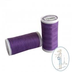 Fil à coudre polyester 200m violet byzantin - 019