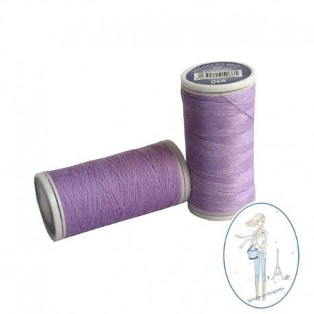 Fil à coudre polyester 200m parme - 068