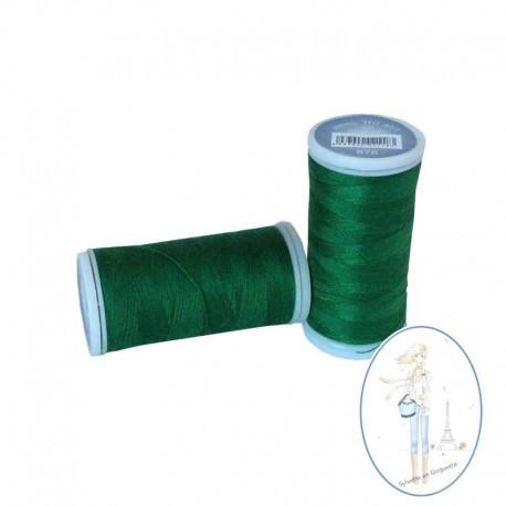 Fil à coudre polyester 200m vert noël - 876