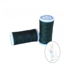 Fil à coudre polyester 200m vert forët - 870