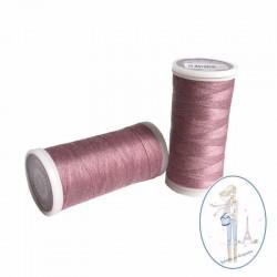 Fil à coudre polyester 200m bois de rose - 069