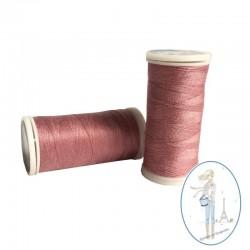 Fil à coudre polyester 200m vieux rose - 070