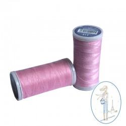 Fil à coudre polyester 200m rose ballerine - 513