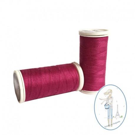 Fil à coudre polyester 200m pivoine - 524