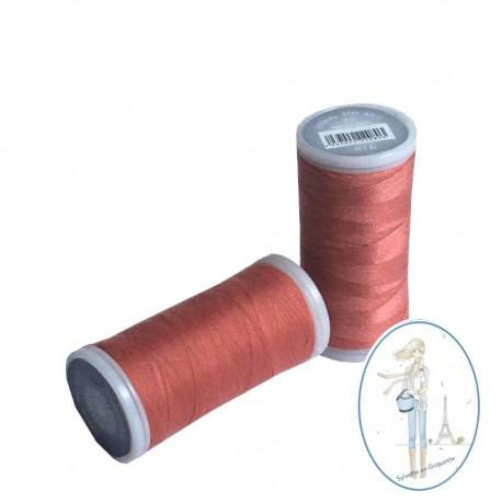 Fil à coudre polyester 200m corail - 816