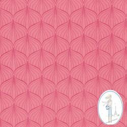 Toile cirée Au maison rose indien Alli