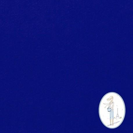 Coupon feutrine bleu indigo 20 X 30 cm
