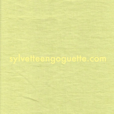 Lin Jaune pastel