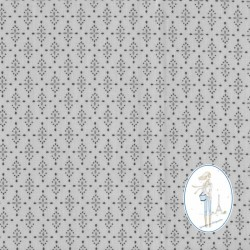 Toile cirée gris clair YASMIN