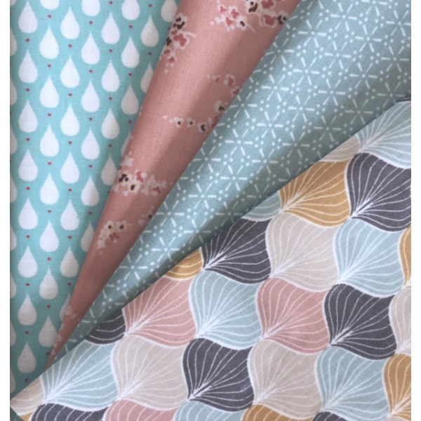 toile cir e design scandinave rose poudr. Black Bedroom Furniture Sets. Home Design Ideas