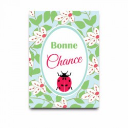 Carte postale Bonne chance