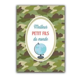 Carte postale Meilleur petit-fils du monde