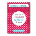 Carte à gratter Future Mamie