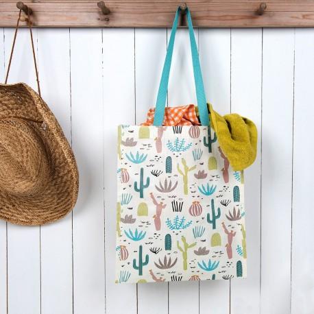 Sac shopping Cactus du désert