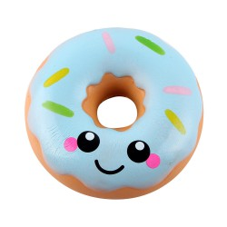 Squishy kawaii donuts bleu- ANTI STRESS