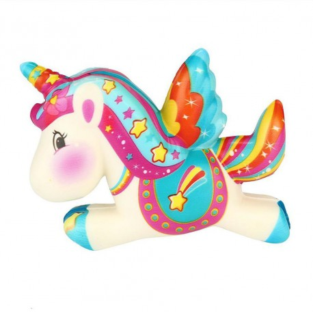 Squishy kawaii licorne étoile filante - ANTI STRESS