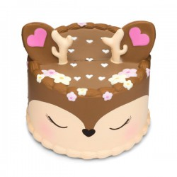 Squishy kawaii gâteau bambi - ANTI STRESS