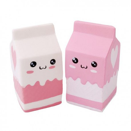 Squishy kawaii brique de lait - ANTI STRESS