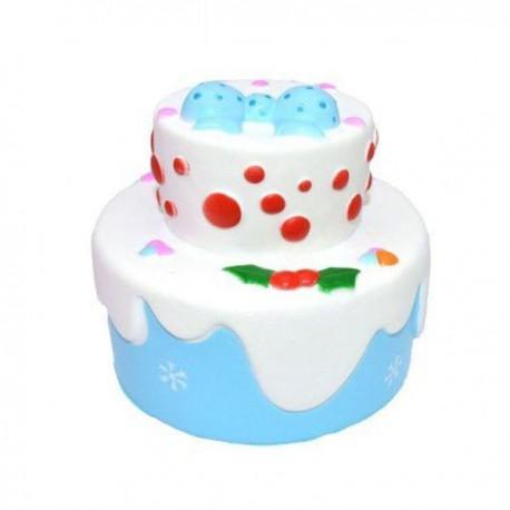 Squishy kawaii gâteau princesse bleu - ANTI STRESS