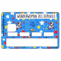 Sticker CB Wonderwoman des dépenses