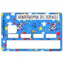 Sticker CB Wonderwoman des dépenses