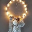 Guirlande lumineuse personnalisée écrue