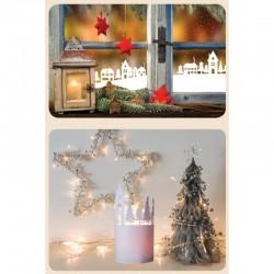 Kit déco Village de Noël en papier