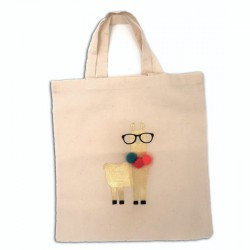 Kit custo lama or pour tote bag