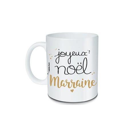 Mug Joyeux Noël Marraine