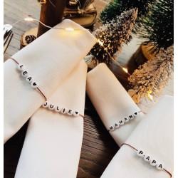 Marque place bracelet à personnaliser