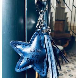 Porte clés - La vie est belle